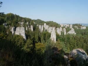 Walking through the Bohemian Paradise