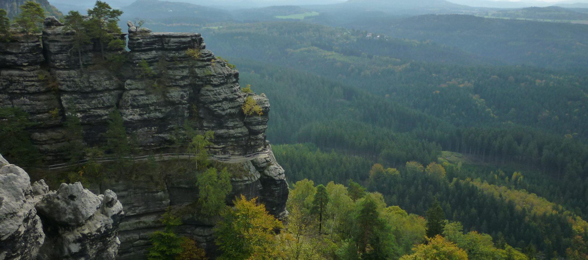 Bohemian Switzerland National Park, České Švýcarsko.