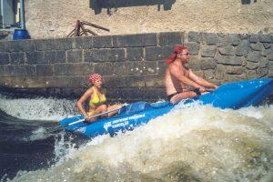 Canoe holiday Vltava
