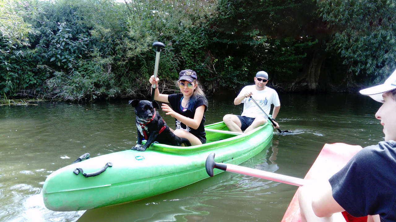 Self-guided canoeing holidays Vltava river